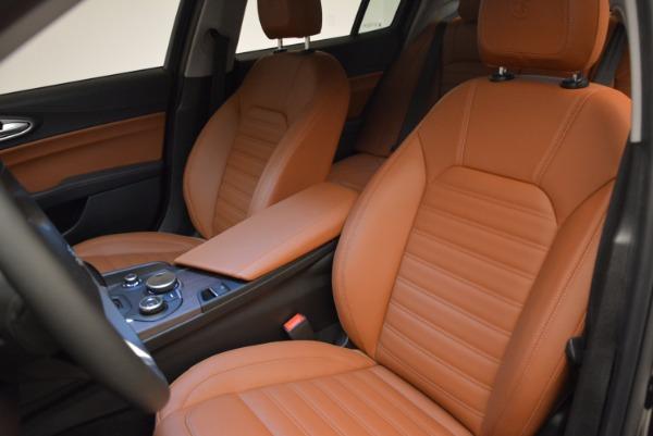 New 2017 Alfa Romeo Giulia Ti Lusso Q4 for sale Sold at Bentley Greenwich in Greenwich CT 06830 15