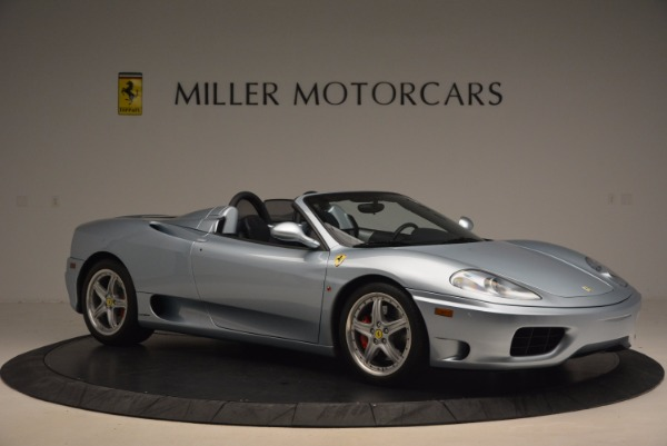 Used 2003 Ferrari 360 Spider 6-Speed Manual for sale Sold at Bentley Greenwich in Greenwich CT 06830 10