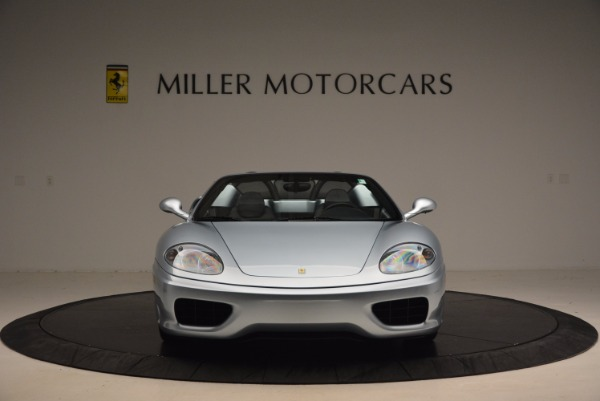 Used 2003 Ferrari 360 Spider 6-Speed Manual for sale Sold at Bentley Greenwich in Greenwich CT 06830 12
