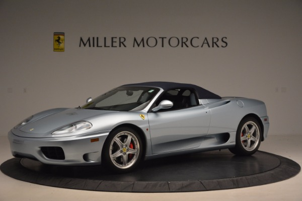 Used 2003 Ferrari 360 Spider 6-Speed Manual for sale Sold at Bentley Greenwich in Greenwich CT 06830 14