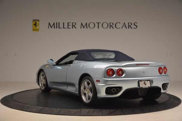 Used 2003 Ferrari 360 Spider 6-Speed Manual for sale Sold at Bentley Greenwich in Greenwich CT 06830 17