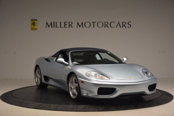 Used 2003 Ferrari 360 Spider 6-Speed Manual for sale Sold at Bentley Greenwich in Greenwich CT 06830 23