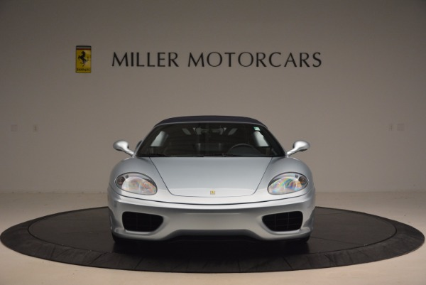 Used 2003 Ferrari 360 Spider 6-Speed Manual for sale Sold at Bentley Greenwich in Greenwich CT 06830 24