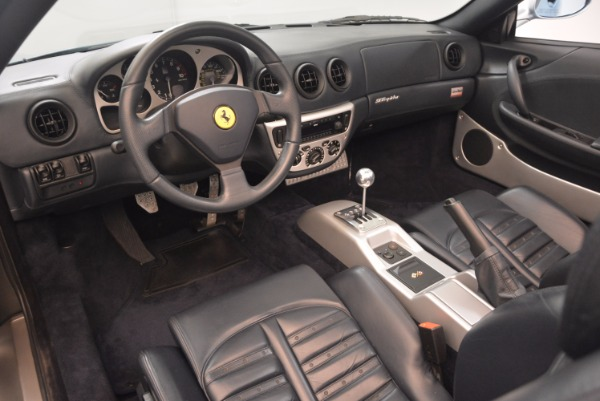 Used 2003 Ferrari 360 Spider 6-Speed Manual for sale Sold at Bentley Greenwich in Greenwich CT 06830 25