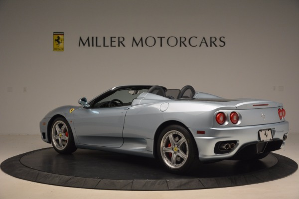Used 2003 Ferrari 360 Spider 6-Speed Manual for sale Sold at Bentley Greenwich in Greenwich CT 06830 4