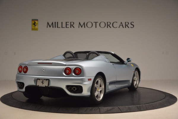 Used 2003 Ferrari 360 Spider 6-Speed Manual for sale Sold at Bentley Greenwich in Greenwich CT 06830 7