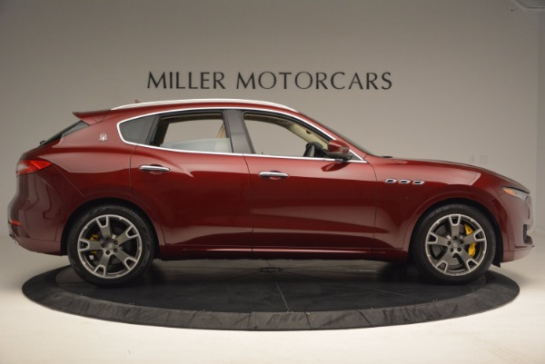 Used 2017 Maserati Levante S for sale Sold at Bentley Greenwich in Greenwich CT 06830 9