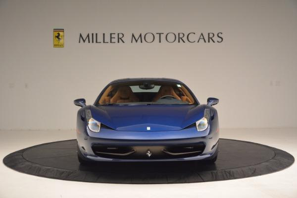 Used 2013 Ferrari 458 Italia for sale Sold at Bentley Greenwich in Greenwich CT 06830 12