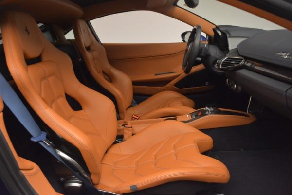 Used 2013 Ferrari 458 Italia for sale Sold at Bentley Greenwich in Greenwich CT 06830 18