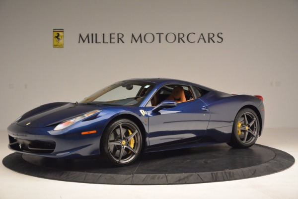 Used 2013 Ferrari 458 Italia for sale Sold at Bentley Greenwich in Greenwich CT 06830 2