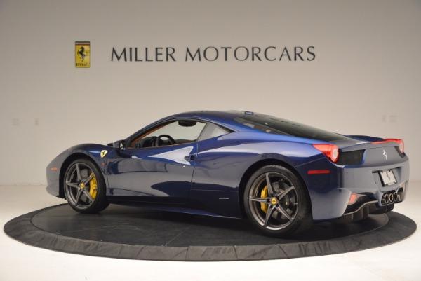 Used 2013 Ferrari 458 Italia for sale Sold at Bentley Greenwich in Greenwich CT 06830 4