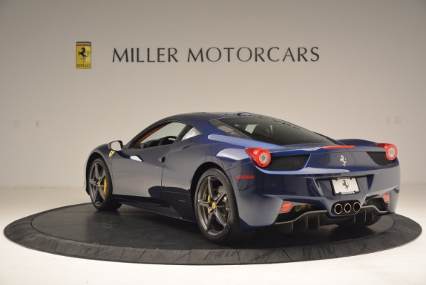 Used 2013 Ferrari 458 Italia for sale Sold at Bentley Greenwich in Greenwich CT 06830 5