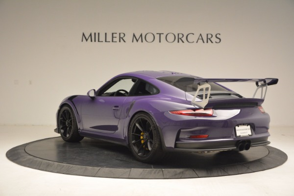 Used 2016 Porsche 911 GT3 RS for sale Sold at Bentley Greenwich in Greenwich CT 06830 5