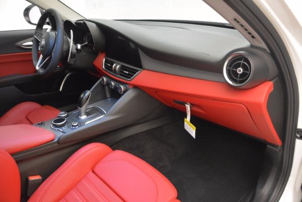 New 2017 Alfa Romeo Giulia Ti Q4 for sale Sold at Bentley Greenwich in Greenwich CT 06830 16
