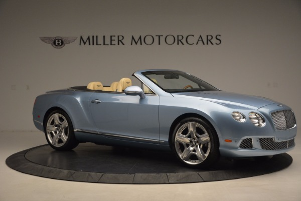 Used 2012 Bentley Continental GTC W12 for sale Sold at Bentley Greenwich in Greenwich CT 06830 10