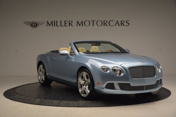 Used 2012 Bentley Continental GTC W12 for sale Sold at Bentley Greenwich in Greenwich CT 06830 11