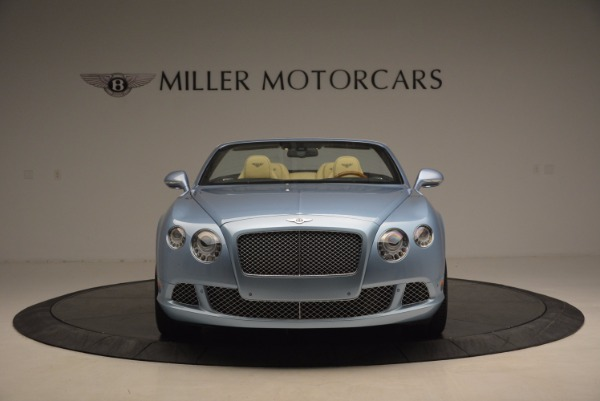 Used 2012 Bentley Continental GTC W12 for sale Sold at Bentley Greenwich in Greenwich CT 06830 12