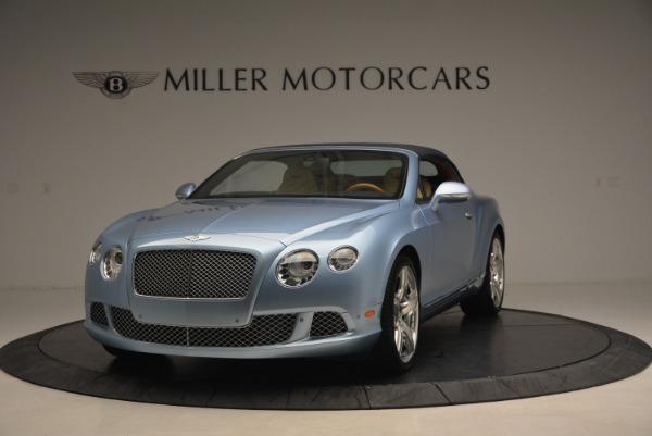 Used 2012 Bentley Continental GTC W12 for sale Sold at Bentley Greenwich in Greenwich CT 06830 13
