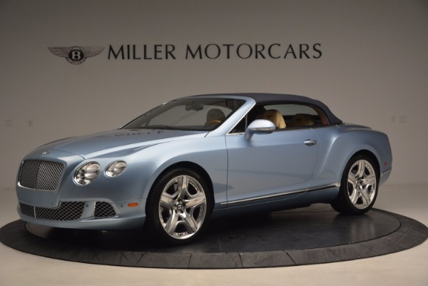Used 2012 Bentley Continental GTC W12 for sale Sold at Bentley Greenwich in Greenwich CT 06830 14