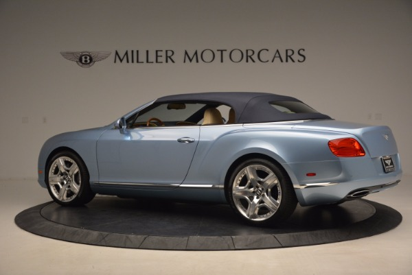 Used 2012 Bentley Continental GTC W12 for sale Sold at Bentley Greenwich in Greenwich CT 06830 16