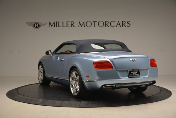 Used 2012 Bentley Continental GTC W12 for sale Sold at Bentley Greenwich in Greenwich CT 06830 17