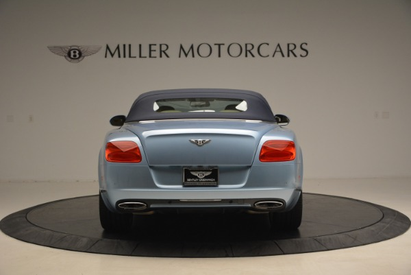 Used 2012 Bentley Continental GTC W12 for sale Sold at Bentley Greenwich in Greenwich CT 06830 18