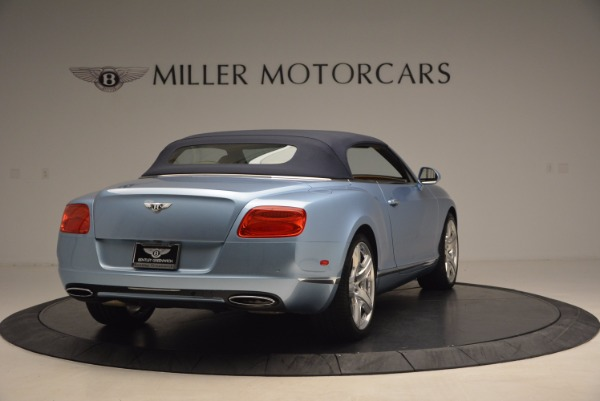 Used 2012 Bentley Continental GTC W12 for sale Sold at Bentley Greenwich in Greenwich CT 06830 19