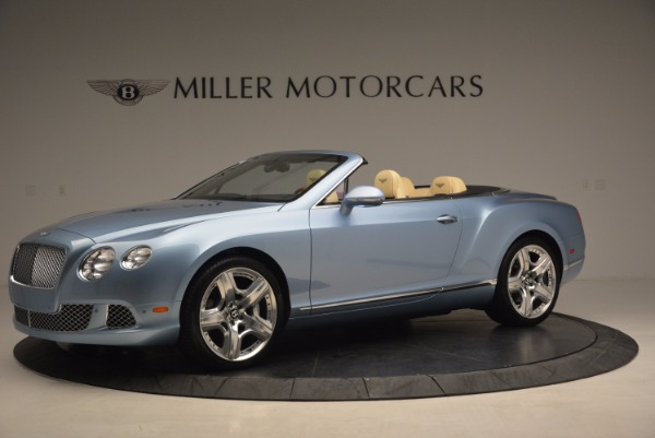 Used 2012 Bentley Continental GTC W12 for sale Sold at Bentley Greenwich in Greenwich CT 06830 2