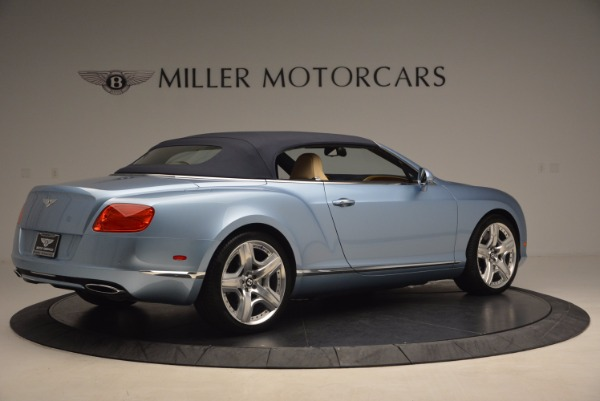 Used 2012 Bentley Continental GTC W12 for sale Sold at Bentley Greenwich in Greenwich CT 06830 20