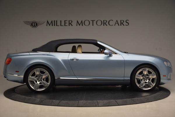 Used 2012 Bentley Continental GTC W12 for sale Sold at Bentley Greenwich in Greenwich CT 06830 21