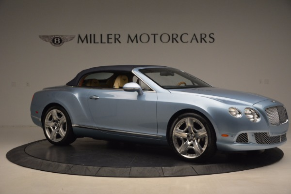 Used 2012 Bentley Continental GTC W12 for sale Sold at Bentley Greenwich in Greenwich CT 06830 22