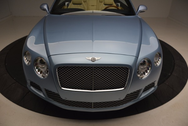 Used 2012 Bentley Continental GTC W12 for sale Sold at Bentley Greenwich in Greenwich CT 06830 24