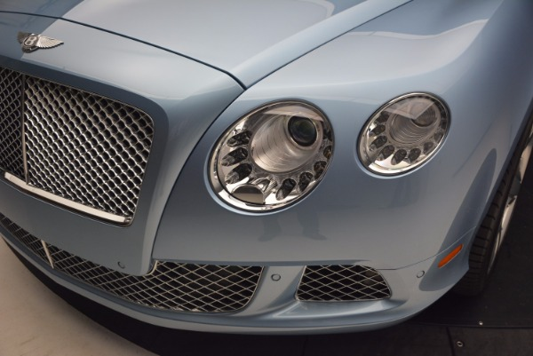 Used 2012 Bentley Continental GTC W12 for sale Sold at Bentley Greenwich in Greenwich CT 06830 25