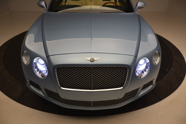 Used 2012 Bentley Continental GTC W12 for sale Sold at Bentley Greenwich in Greenwich CT 06830 26