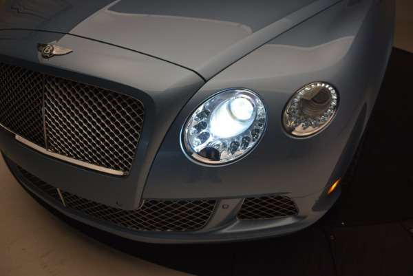 Used 2012 Bentley Continental GTC W12 for sale Sold at Bentley Greenwich in Greenwich CT 06830 27