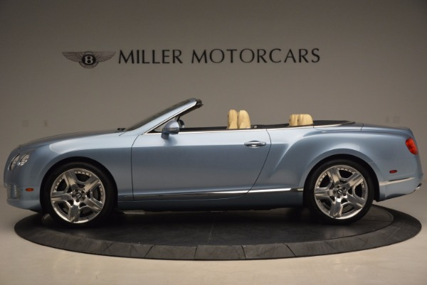Used 2012 Bentley Continental GTC W12 for sale Sold at Bentley Greenwich in Greenwich CT 06830 3