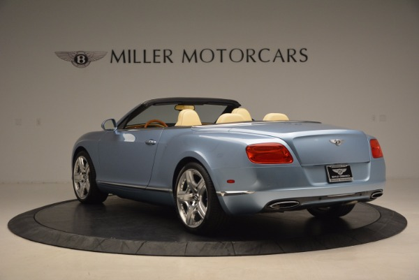 Used 2012 Bentley Continental GTC W12 for sale Sold at Bentley Greenwich in Greenwich CT 06830 5