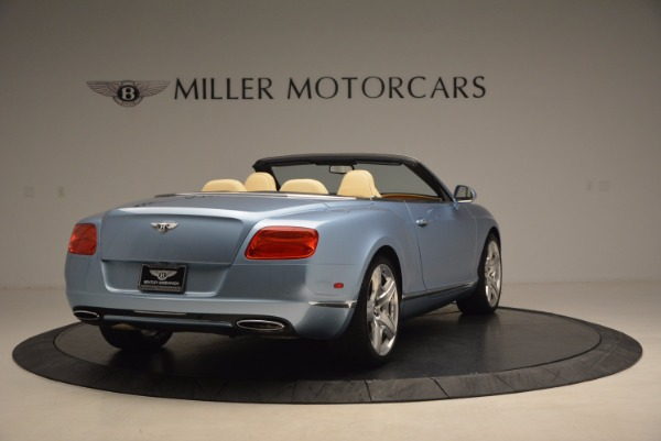 Used 2012 Bentley Continental GTC W12 for sale Sold at Bentley Greenwich in Greenwich CT 06830 7