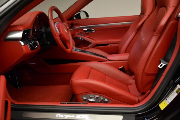 Used 2015 Porsche 911 Targa 4S for sale Sold at Bentley Greenwich in Greenwich CT 06830 22