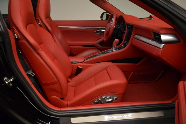 Used 2015 Porsche 911 Targa 4S for sale Sold at Bentley Greenwich in Greenwich CT 06830 26