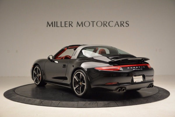 Used 2015 Porsche 911 Targa 4S for sale Sold at Bentley Greenwich in Greenwich CT 06830 5