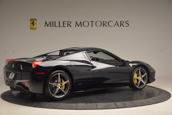 Used 2015 Ferrari 458 Spider for sale Sold at Bentley Greenwich in Greenwich CT 06830 18