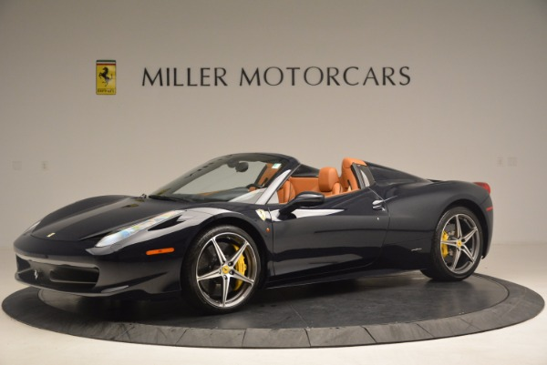 Used 2015 Ferrari 458 Spider for sale Sold at Bentley Greenwich in Greenwich CT 06830 2