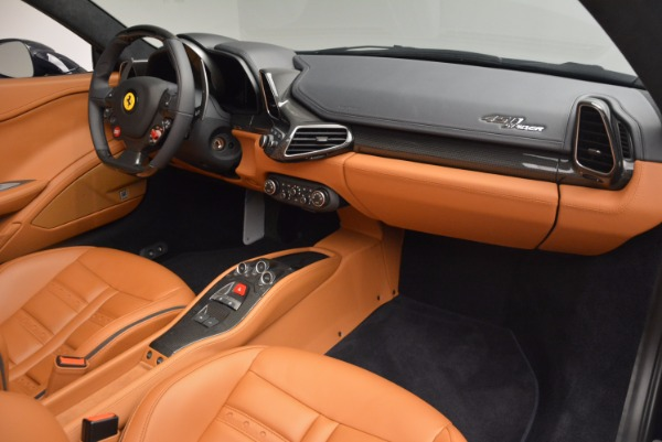 Used 2015 Ferrari 458 Spider for sale Sold at Bentley Greenwich in Greenwich CT 06830 25