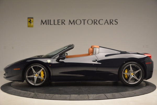 Used 2015 Ferrari 458 Spider for sale Sold at Bentley Greenwich in Greenwich CT 06830 3