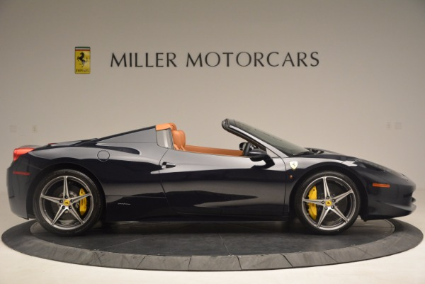 Used 2015 Ferrari 458 Spider for sale Sold at Bentley Greenwich in Greenwich CT 06830 9