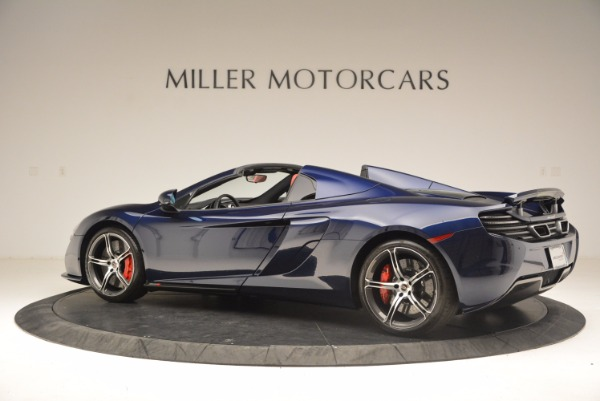 Used 2015 McLaren 650S Spider for sale Sold at Bentley Greenwich in Greenwich CT 06830 4