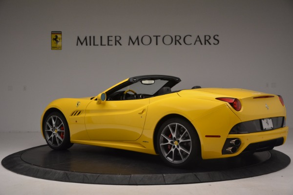 Used 2011 Ferrari California for sale Sold at Bentley Greenwich in Greenwich CT 06830 4