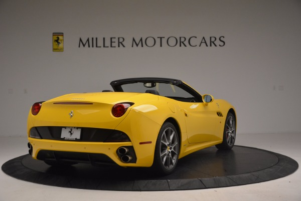 Used 2011 Ferrari California for sale Sold at Bentley Greenwich in Greenwich CT 06830 7