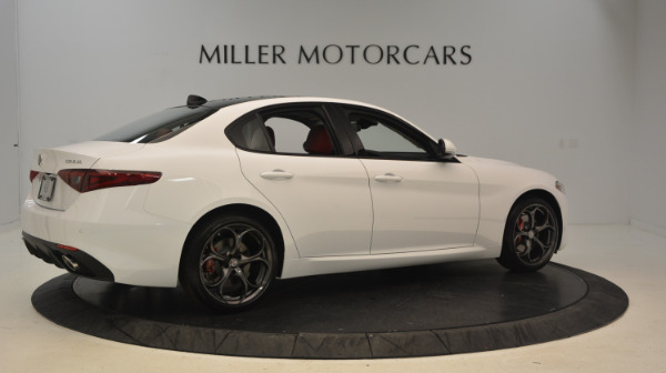 New 2017 Alfa Romeo Giulia Ti Sport Q4 for sale Sold at Bentley Greenwich in Greenwich CT 06830 8